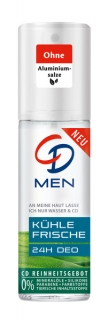 CD deospray ve skle MEN 75 ml