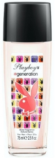 Playboy deospray ve skle Play It Generation 75 ml