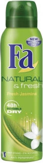 Fa deospray Natural & Fresh Jasmín 150 ml