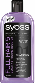 Syoss šampon na vlasy Full Hair 5 500 ml