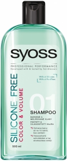 Syoss šampon na vlasy Silicone Free Color & Volume 500 ml