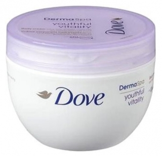 Dove krém DermaSpa Youthful Vitality 300 ml