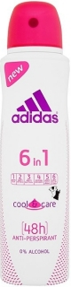 Adidas deospray Woman antiperspirant Cool & Care 6 in 1 150 ml