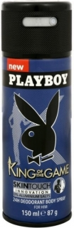 Playboy deospray Men King of the Game 150 ml