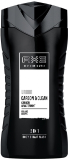 Axe sprchový gel Urban Carbon & Clean 2in1 250 ml