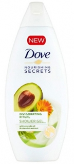 Dove sprchový gel Nourishing Secrets Avokádový oil 250 ml