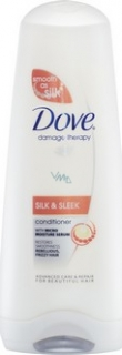 Dove kondicionér na vlasy Silk & Sleek 200 ml